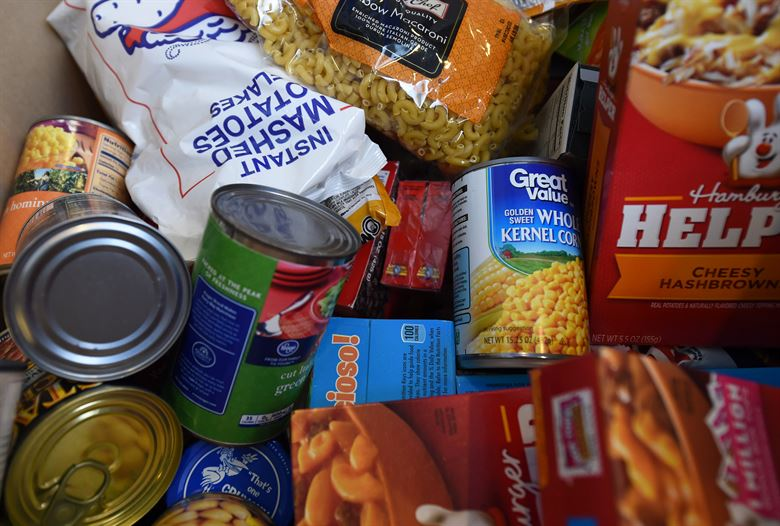 Prince of Peace Thanksgiving Food Drive