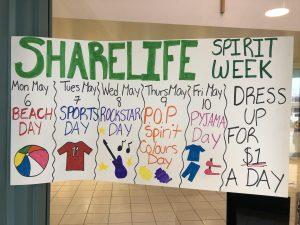POP Spirit Week for ShareLife