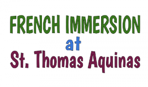 French Immersion Information Night for Parents of SK Students