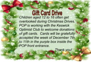 Gift Card Drive